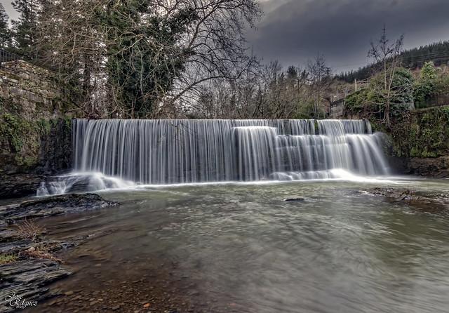 Cascada de la ermita Santa Rosa Baseliza