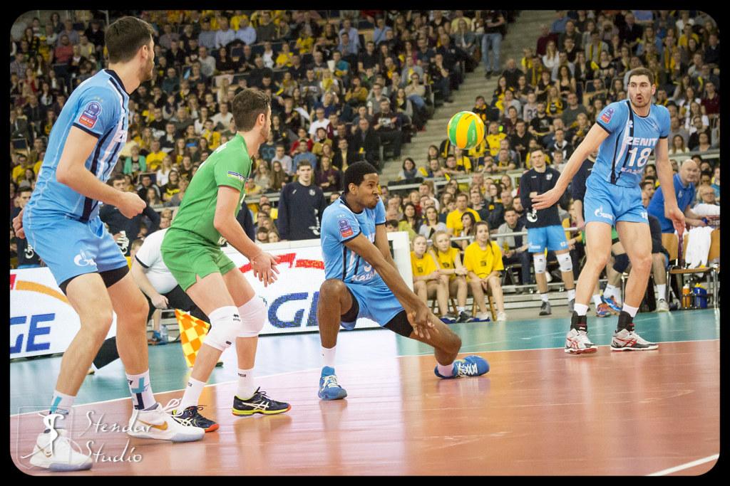 Volleyball Champions League Pge Skra Belchatow Zenit Ka Flickr
