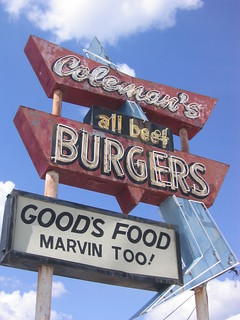 Coleman's Burgers Neon Sign | by Lost Tulsa