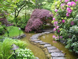 Japanese Garden, Butchart Gardens.Victoria, B.C. | by **Mary**