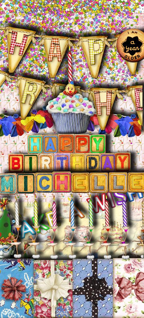 happy birthday scrapabilitys michelle