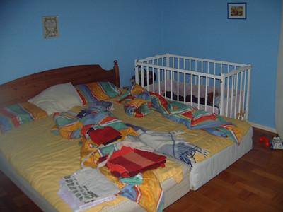 Mammas och pappas rum.