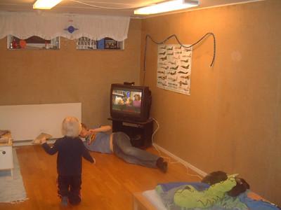 Johan kan nu se på TV!