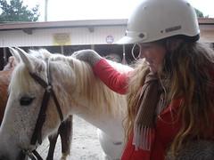 me & roly, good pony