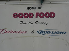 Home of good food, obviously.