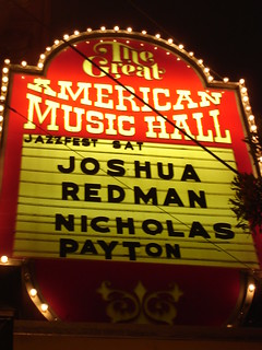 Great American Music Hall | by in2jazz