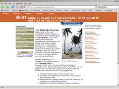 SITs M.A.Program
