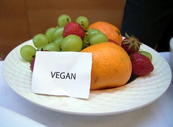 vegan selection