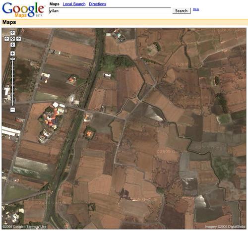 利用google map找到五十二甲風箱樹