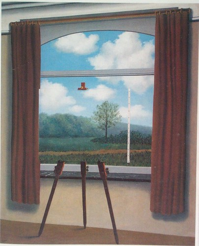 """The Human Condition"" by Rene Magritte (1933) 