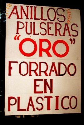 Oro plastificado