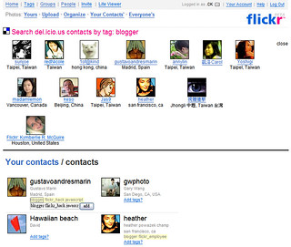 del.icio.us Contacts - Search Results | by .CK