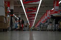 Supermarkt in seiner ganzen Ungastlichkeit 2