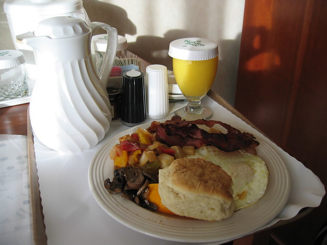 Room Service; here's your heart attack sir!