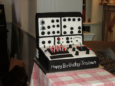 tristram birthday cake