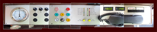 aerial tram car control panel.