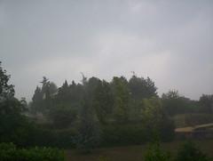 Pluie à St Marcel