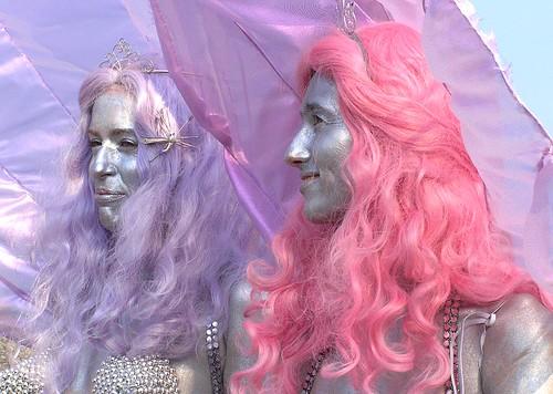 Silver Mermaids