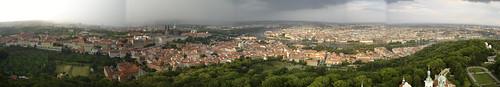 Tormenta sobre Praga