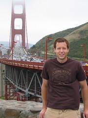 Aaron at the Bridge