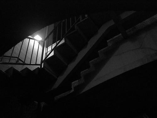 Staircase B&W