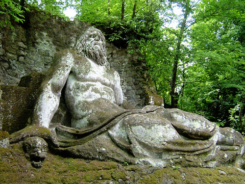 The Sacred Grove of Bomarzo #6 | by Andrea Marutti