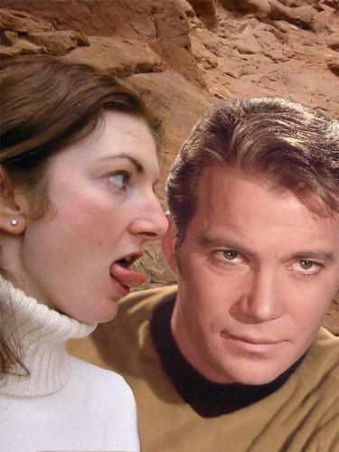 Shatner? Lickable.