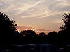 Sunset over Aigle
