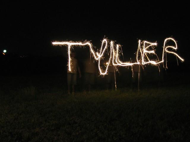 Tyler in Lights