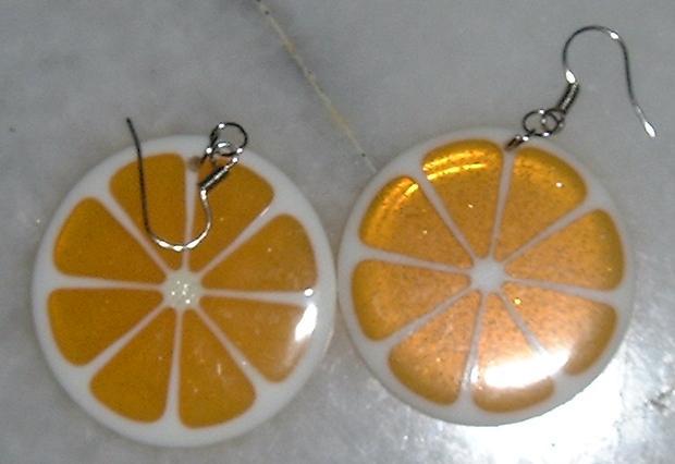 My orange earrings!