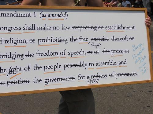 Amendment I, Amended