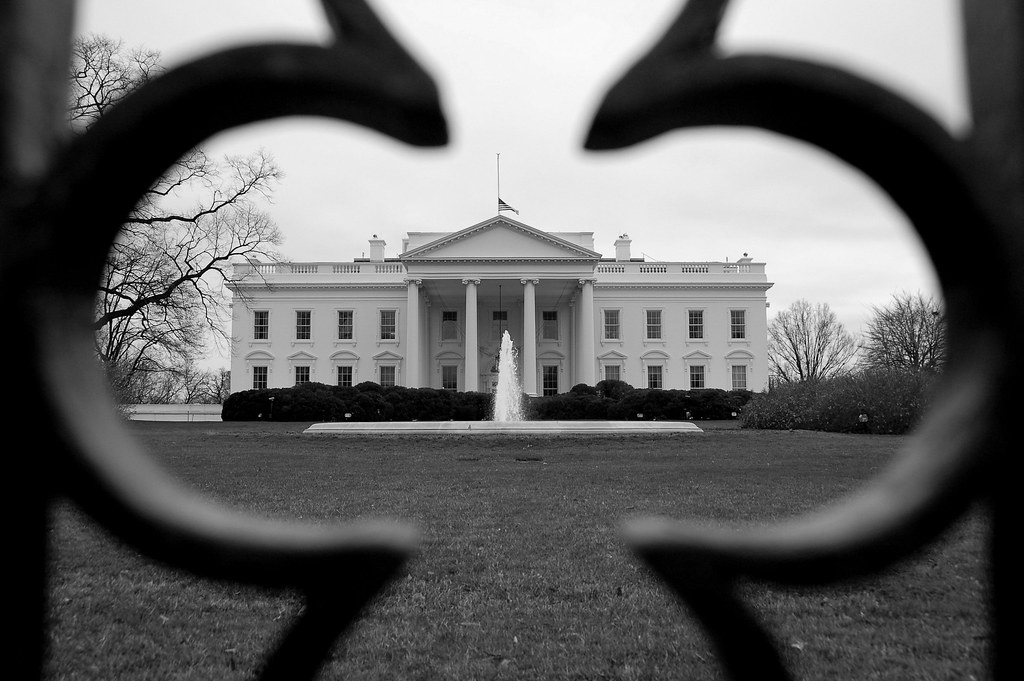 Black and White House