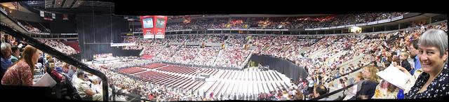 PSU Graduation Panorama