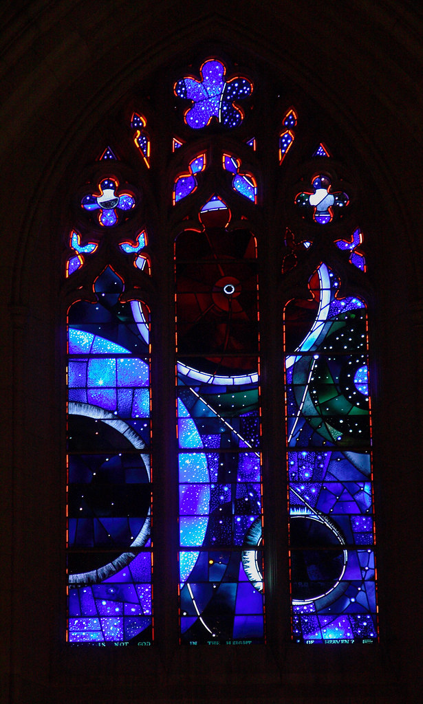 Moon Window at the Washington National Cathedral by ehpien
