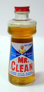 Mr. Clean Sample Bottle, 1958 | by Roadsidepictures