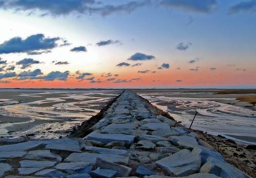 winter seascape sunrise landscape geotagged twilight provincetown capecod jetty shoreline january provincetownma tidalflats outstandingshots capecodlife geo:lat=42036855 geo:lon=70196752 dbcapecod