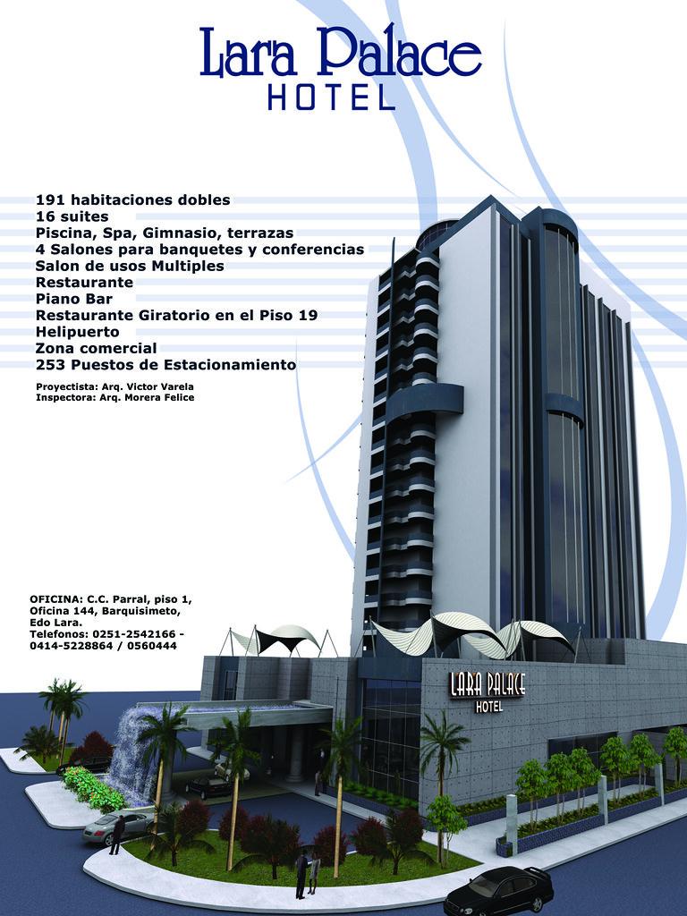 Valla Informativa Lara Palace Hotel Pronto En Barquisime