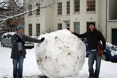 Giant snowball | by gluemoon