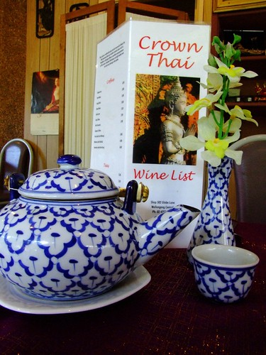 Pot of Green Tea @ Crown Thai Restaurant, Wollongong | by Vanessa Pike-Russell