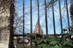 The Spire of Mainz Cathedral...