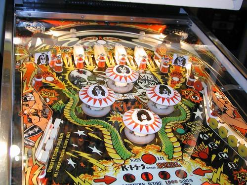 German KISS Pinball machine 3