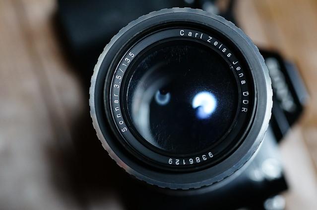 Carl Zeiss Jena DDR Sonnar 135mm F3 5 M42マウント - 伊藤浩一