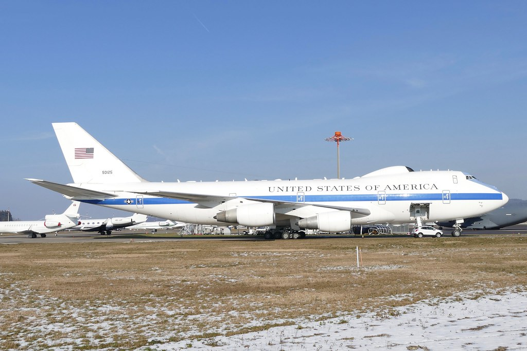 Boeing E 4b United States Of America Us Air Force Usa 5012 Flickr