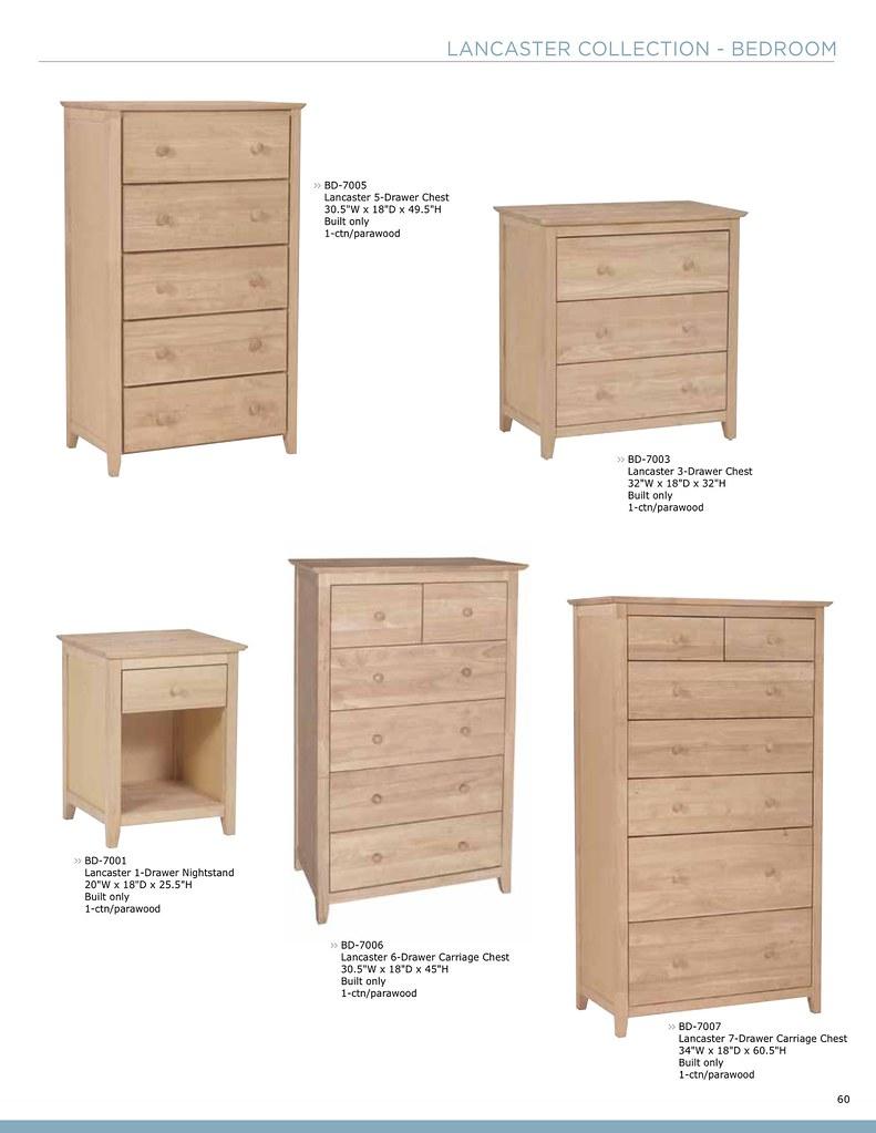 Whitewood • Bedroom • Page 10  Unpainted Furniture Plus  Flickr