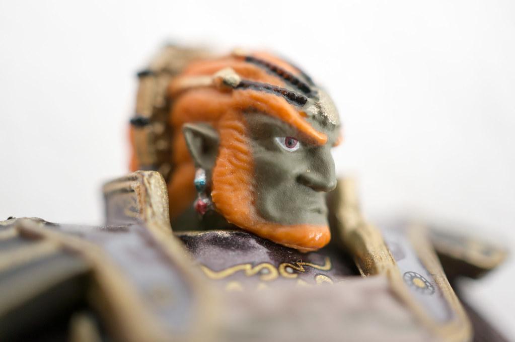 Ganondorf Amiibo Detail Face Daniel Sanchez Flickr