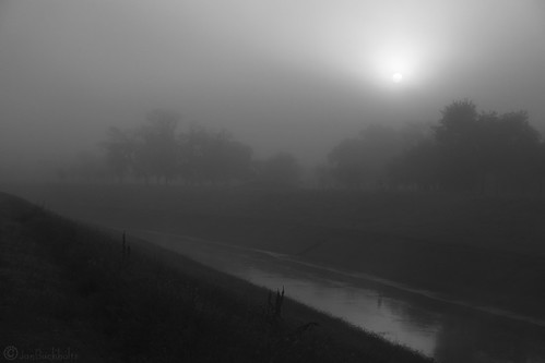 mist monochrome fog sunrise river texas flood houston bayou april 2016 brays braysbayou janbuchholtz