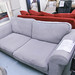3 seater sofa ash fabric
