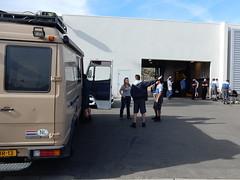 Palm Springs - Mercedes garage -  bbq