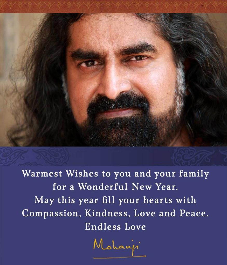 mohanjis happy new year wish mohanji quotes flickr