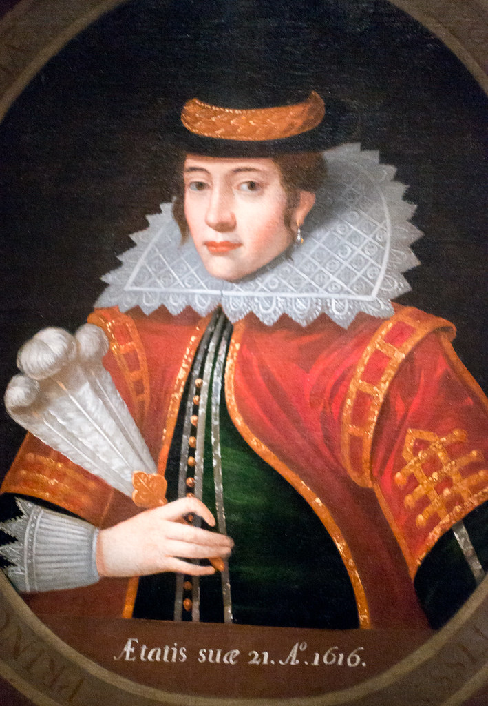Pocahontas Booton Hall Portrait This Widely Exhibited